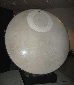 The Gemini B (Gemini 2) heat shield hatch
