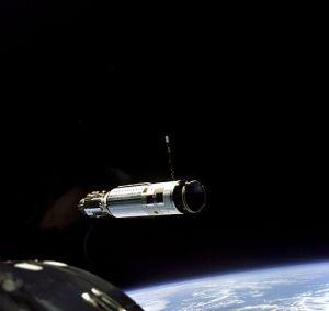 Gemini 8's ATV as seen from Gemini 8.