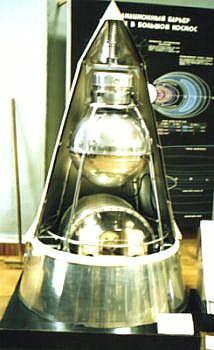 Sputnik 2 model