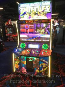 The New Raw Thrills Teenage Mutant Ninja Turtles Arcade Game