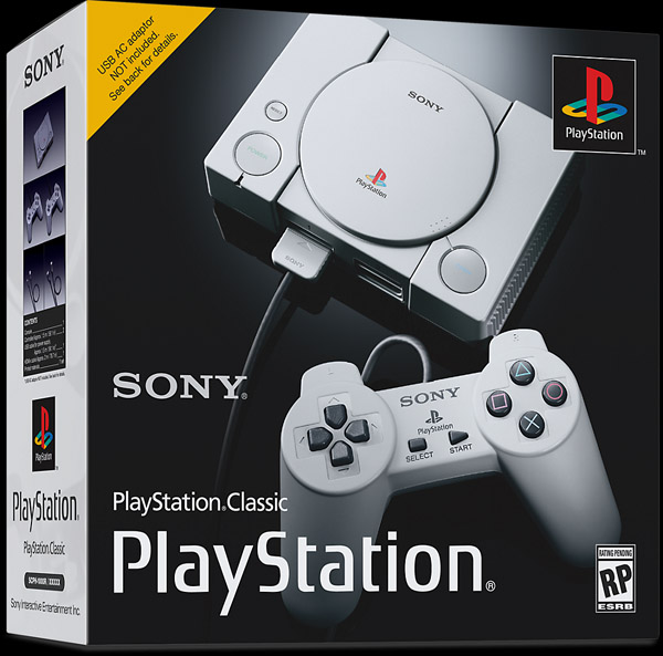 So The PlayStation Classic Doesn't Come With A Power Supply, And