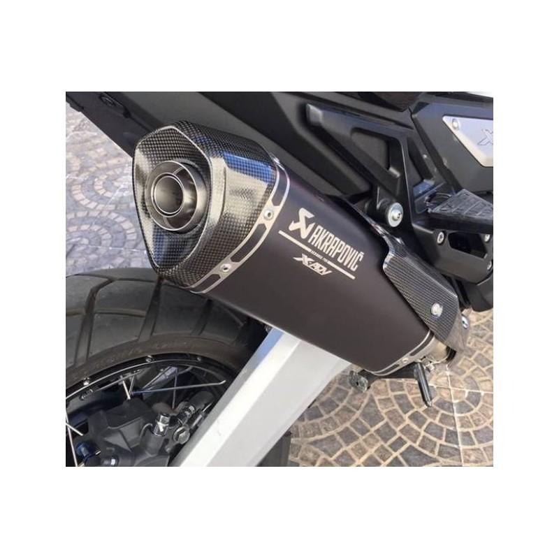 akrapovic honda slip on exhaust for honda x adv