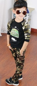 New-Autumn-2015-Children-s-For-Kids-Boy-Cargo-Sports-Military-camouflage-Pants-Long-casual-cotton