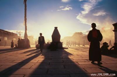 Một góc Tây Tạng.