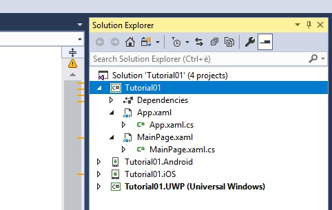 Empty Xamarin Project