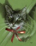 Menkara on Green holiday art