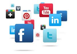 Pinterest LinkedIn and Twitter Popularity