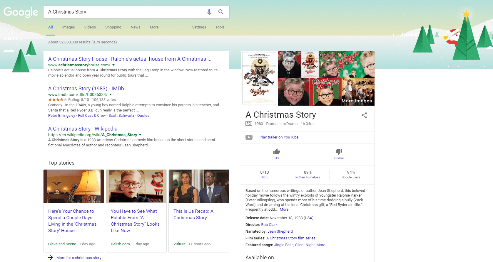 new Google desktop search interface example - Xanjero