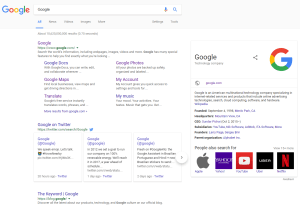 new Google desktop search interface