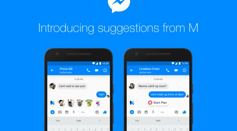 Facebook Messenger AI M