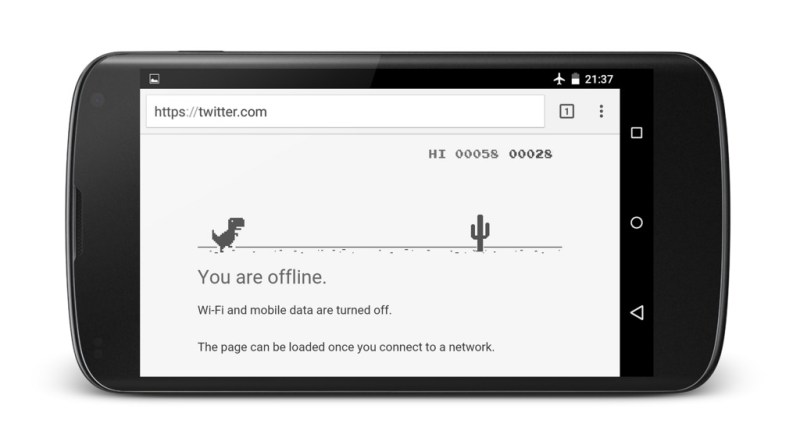 Android Chrome read pages offline