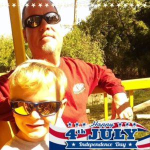 Facebook 4th of July profile photo example