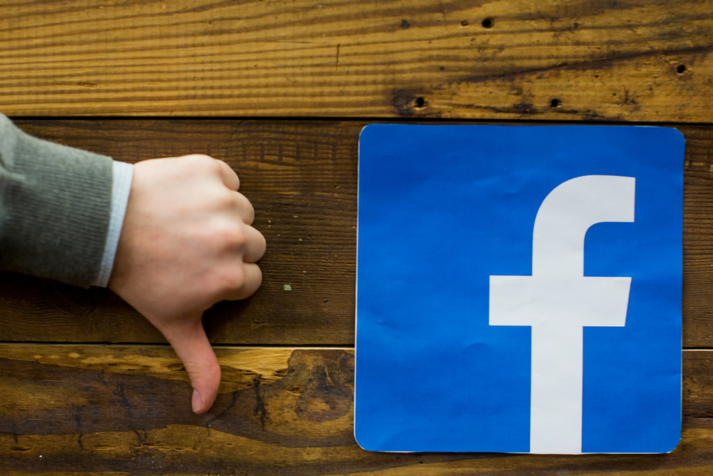 Facebook Pages ad ban