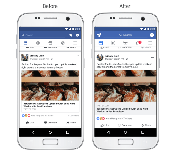 Upcoming Facebook News Feed Redesign includes Circular Profile Pics, Larger Icons, Revamped Comments Format