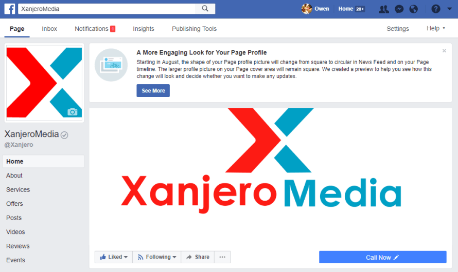 Facebook Tells Pages Owners a Redesign is Coming