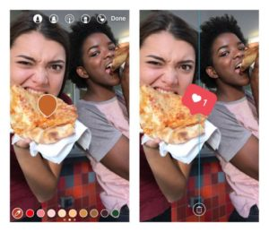 Instagram Stories eyedropper and alignment tools