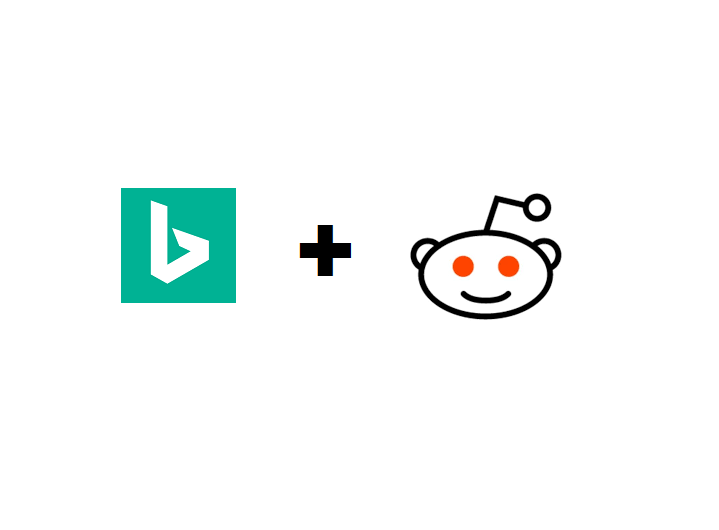 Bing Search Results to Include Reddit Data