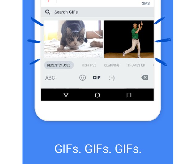 Gboard Now Sports a Conspicuous, Quick Access GIF Creator Tool