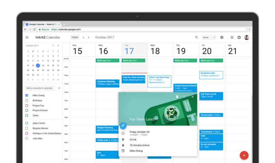 Get Ready for the New Google Calendar Design Experience