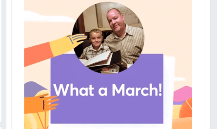 Facebook March Moments