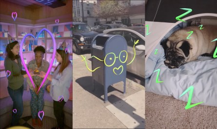 Facebook Stories AR Doodles and Boomerang GIFs