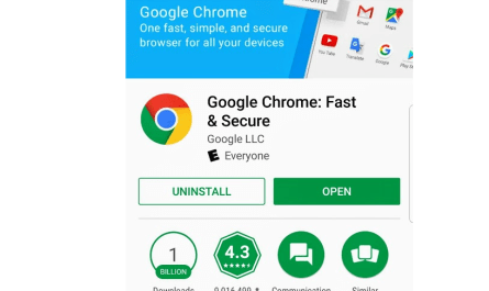 Google Chrome mobile article suggestions