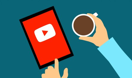 YouTube notification video thumbnails