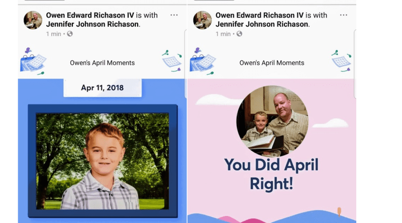 Facebook April Moments video
