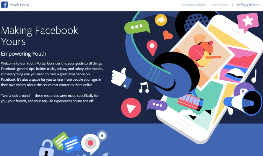"""Facebook Introduces """"Youth Portal"""" a Privacy Tips Center for Teen Users"""