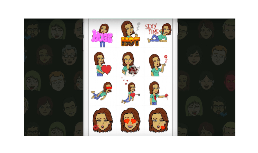 Snapchat Bitmoji Stickers now Work Outside of iOS