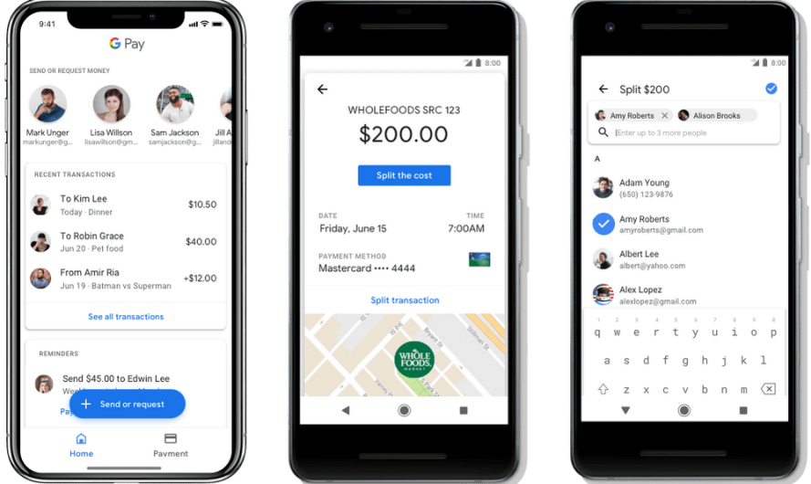 It's now Possible to Pay Friends, Save Concert Tickets and Boarding Passes, with the Google Pay App