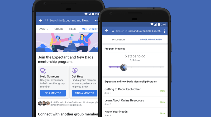 Facebook Mentorships