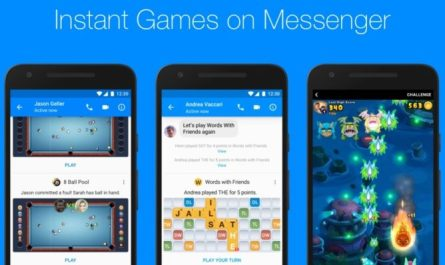 Android Facebook Messenger Instant Games