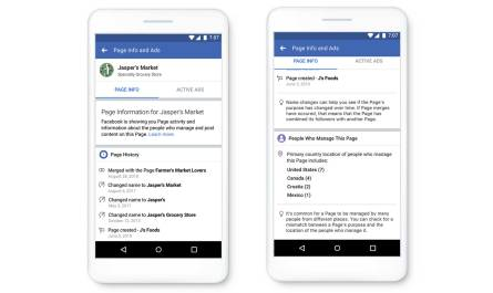 Facebook Pages authorization