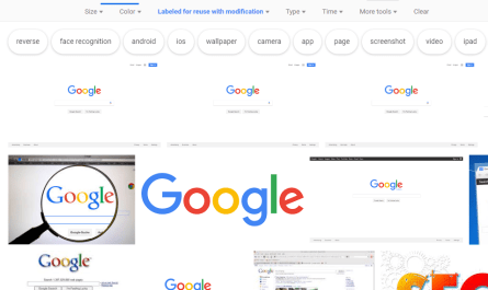 Google image search redesign