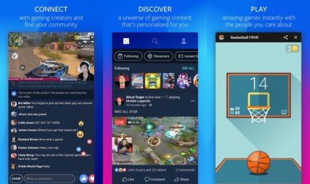 Facebook gaming hub Android app