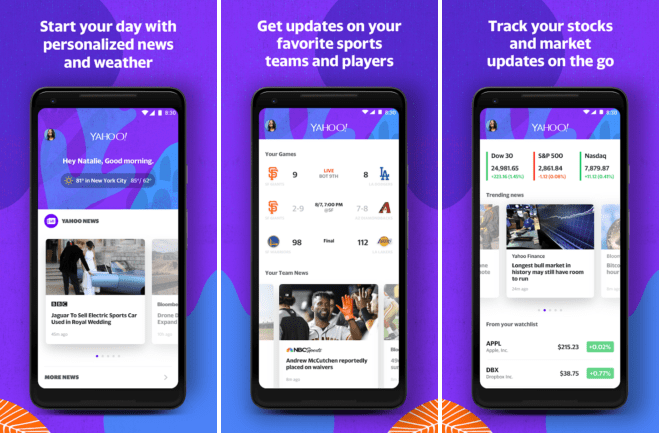 Yahoo is Trying to Copy Google Again; this Time, with a Personalized App