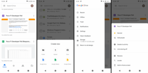 Android Google Drive Material Design