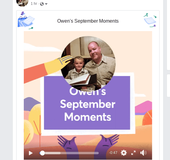 2018 Facebook September Moments Video Rolls Out to Android, iOS, and the Web