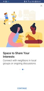 Facebook Today In Share Your Interests