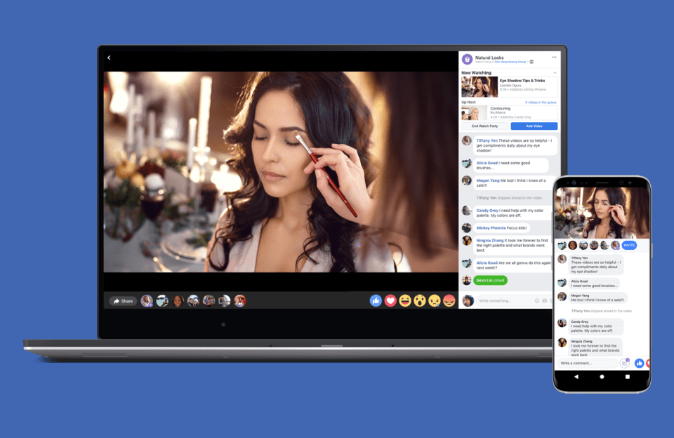 Facebook Watch Party expands