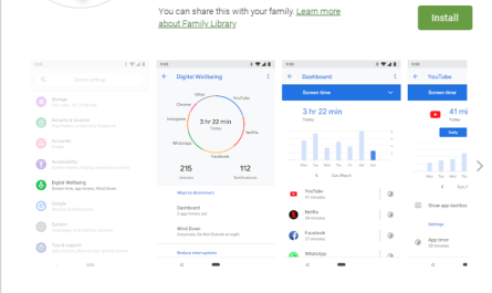 Google Android Digital Wellbeing tools