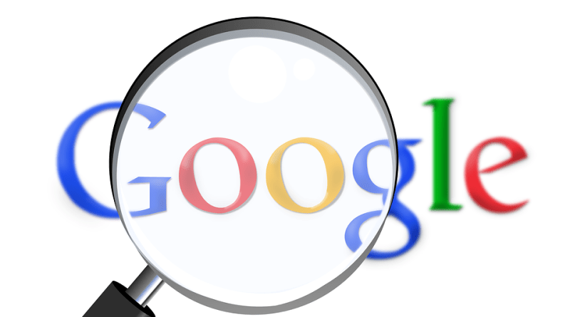 Google search results listing SEO feedback