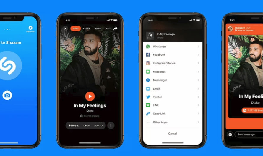 It's Now Possible to Add Shazam Songs to Instagram Stories
