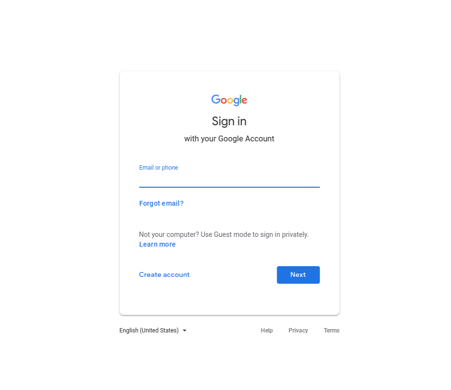 logged-out Google personalized search results