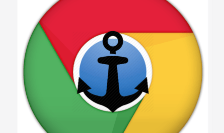 Google Chrome page section anchor links