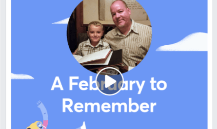 2019 Facebook February Moments video
