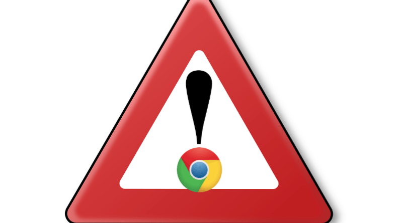 Google Chrome Flash player deprecation warning