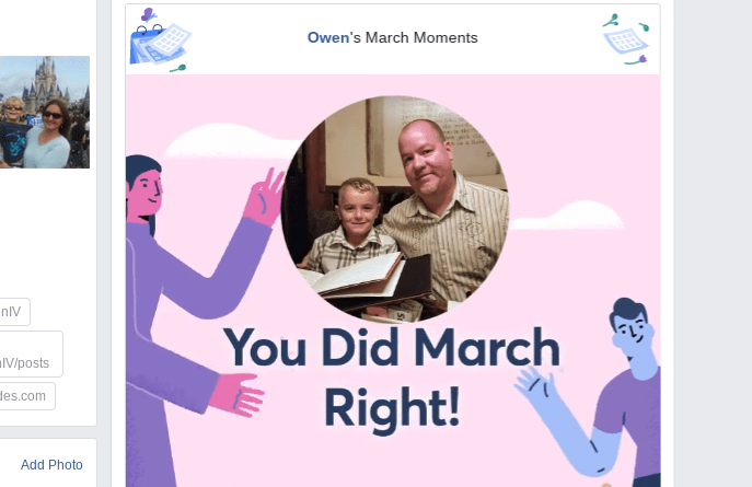 2019 Facebook March Moments video
