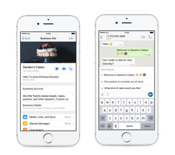 WhatsApp Introduces its Business App for the iPhone with Global Roll Out